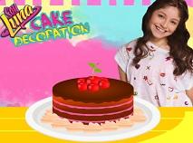 Soy Luna Cake Decoration
