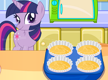 My Little Pony Sparkle Cooking Cupcakes