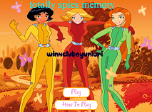 Totally Spies Memory