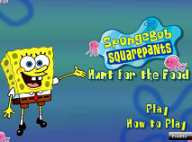 Spongebob Hunt for Food