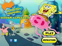 Spongebob Litere Ascunse