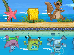 Spongebob Sub Apa si pe Uscat
