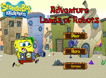 Spongebob Land of Robots