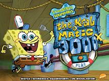 Spongebob si Masina de Gatit