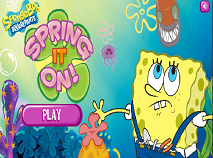 Spongebob Spring It On