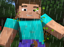 Steve din Minecraft dupa Furtuna