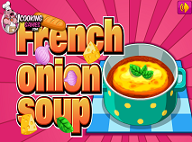 Cooking French Onion Soup