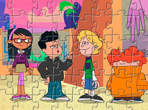 Supernoobs Characters Puzzle