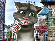 Talking Tom Cat la Dentist