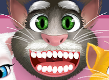 Talking Tom Decoreaza Dintii