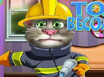 Talking Tom Devine Pompier 2