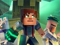 Tetris cu Minecraft