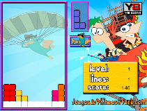 Phineas and Ferb Tetris