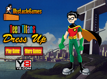 Teen Titans: Dress Up Robin
