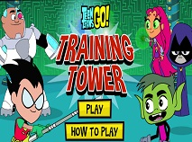 Teen Titans Go Training Tower