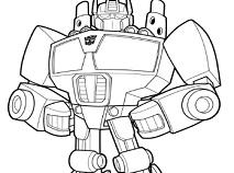 Transformatorii Rescue Bots de Colorat