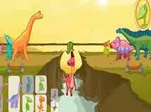 Trenul Dinozaurilor Trage Funia