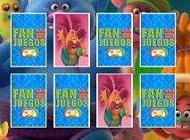 Trolii Memorie cu Carti de Joc