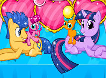 Twilight Sparkle Gave Birth to Twins