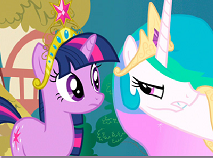 Twilight and Celestia