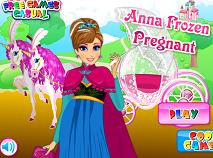 Anna Frozen Insarcinata