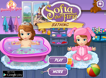 Sofia the First Bathing