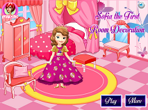 Sofia the First Room Decoration