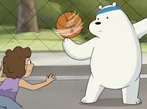 Polar Bear Basketball Puzzle