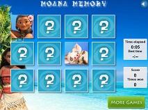 Moana Memory Cards