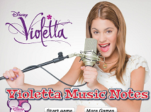 Hidden Violetta Music Notes