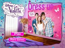Violetta Dress Up