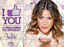 Violetta Puzzle Jigsaw