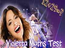 Violetta Test de Matematica