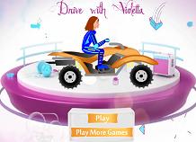 Violetta cu ATV-ul