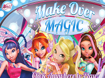 Winx Club Make Over Magic