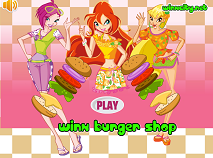 Winx Burger Shop