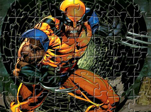 Wolverine in Actiune Puzzle
