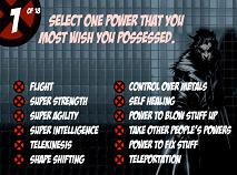 X-Men Test de Personalitate