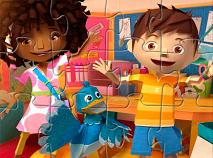 Zack Kira si Quack Puzzle