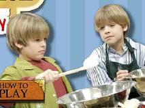 Zack si Cody in Bucatarie