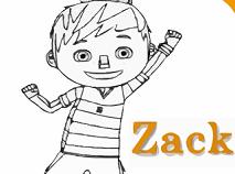 Zack si Quack de Colorat