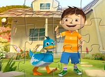 Zack and Quack Backyard