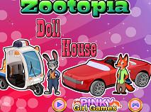 Zootopia Casa de Papusi