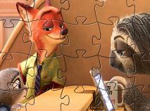 Zootopia Puzzle cu Nick si Judy
