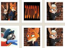 Zootopia Memory Game