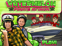 iCarly Watermelon Pirate Attack